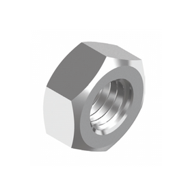 Inox World Stainless Steel Standard Hex Nut A4 (316) BSW Pack of 100 (4024028528712)