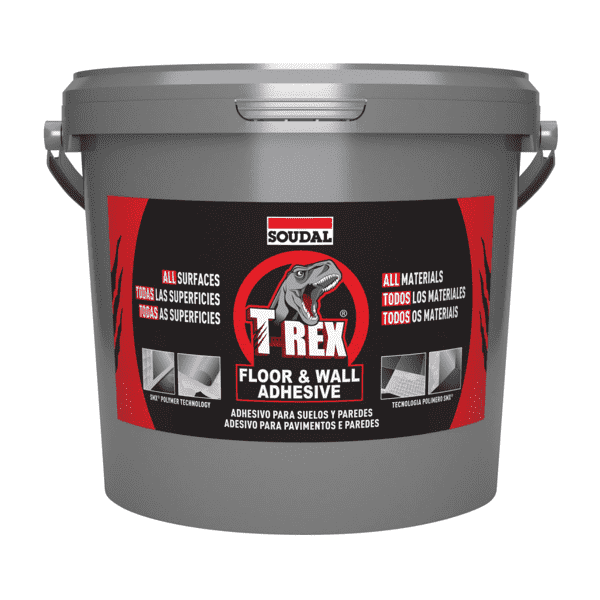 Soudal T-REX Floor & Wall Adhesive White 4kg - SPF Construction Products