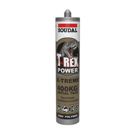 Soudal T-REX Power Extreme 290ml Box of 12 Industrial Adhesives Soudal
