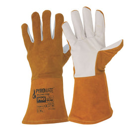 ProChoice Pyromate Tigga Tig Welders Leather Cuff  Glove Pack of 12