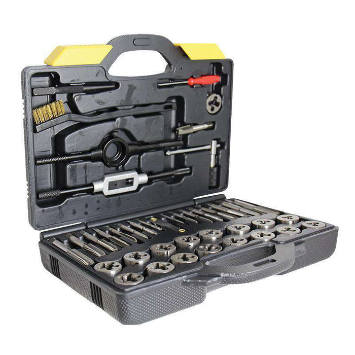Sheffield Alpha 42 Piece Metric Tap and Die Set: General Purpose (1597084991560)