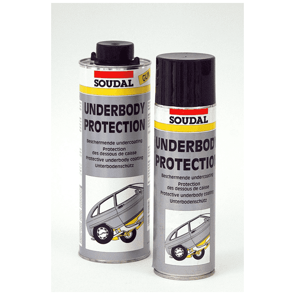 Soudal Underbody Protection Aerosol 500ml Box of 12 Automotive Soudal (1449955917896)