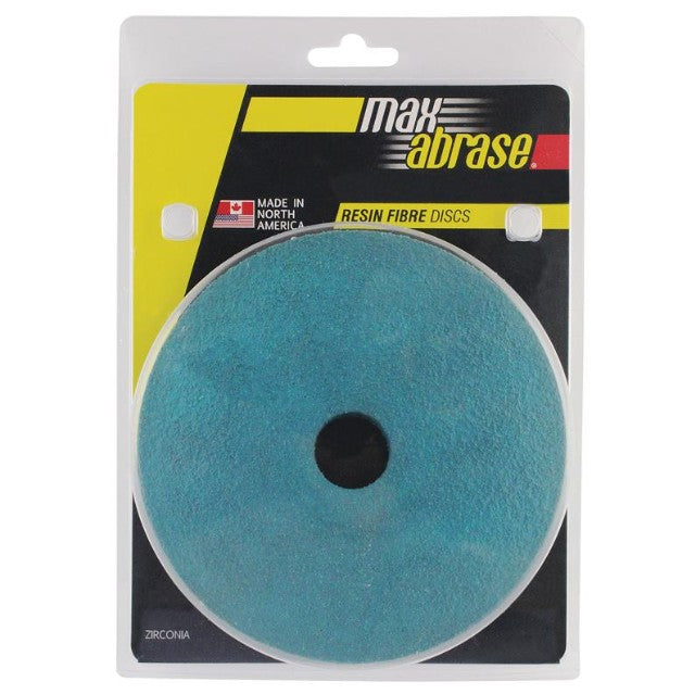 Sheffield Maxabrase 115mm Resin Fibre Disc Zirc. Supreme Carded 5 Pack