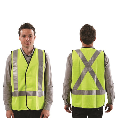 ProChoice Fluro X Back Safety Vest - Day/Night Use (1605309825096)