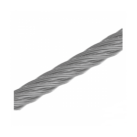 Inox World Wire Rope 7 x 7 A4 (316) M8 Pack of 1 (4053316042824)