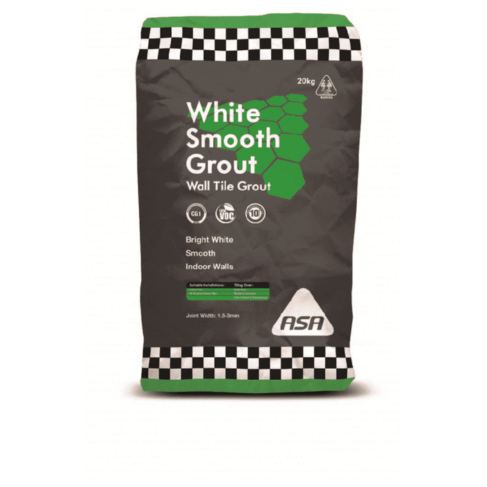 Bostik White Smooth Grout 001 20kg Bag of 1 Grouts Bostik (1593039978568)