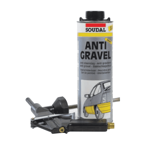 Soudal Anti Gravel Gun Applied 1kg Box of 12 Automotive Soudal (1449918038088)