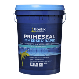 Bostik Primeseal Immersed Rapid Waterproofing Membrane System 20L