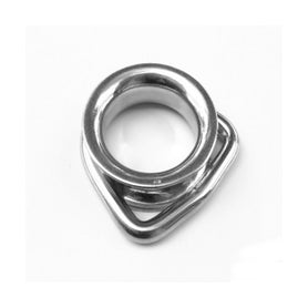 Inox World Stainless Steel D Ring Thimble A4 (316) M6 Pack of 10 (4017908744264)