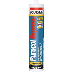 Soudal Purocol Express Fast Curing Translucent 310ml Box of 12 - SPF Construction Products