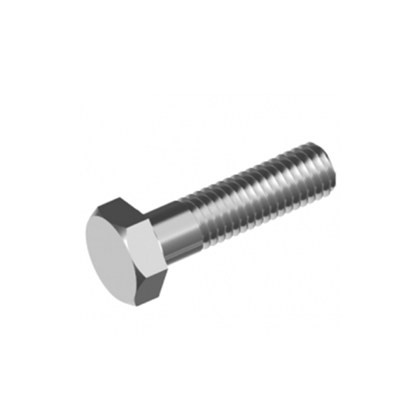 Inox World Stainless Steel M6 Hex Head Bolt A4 (316) - Pack of 50 (4000114704456)