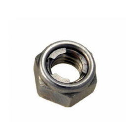 Inox World Stainless Steel Hex Loch Nut A4 (316) Pack of 100 (4019741622344)
