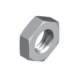 Inox World Stainless Steel Hex Lock Nut A4 (316) Pack of 100 (4023333060680)