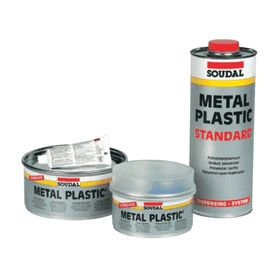 Soudal Metal Plastic Soft 2kg Box of 6 Epoxy Repair Soudal