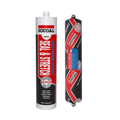 Soudal SMX35 Seal & Stretch 600ml Box of 12 MS Polymer Sealants Soudal (1607139524680)
