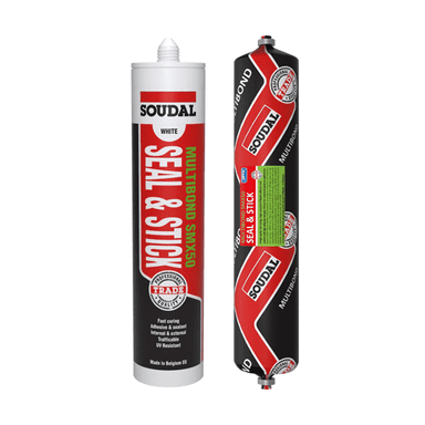 Soudal SMX50 Seal & Stick 290ml Box of 12 MS Polymer Sealants Soudal (1439083331656)