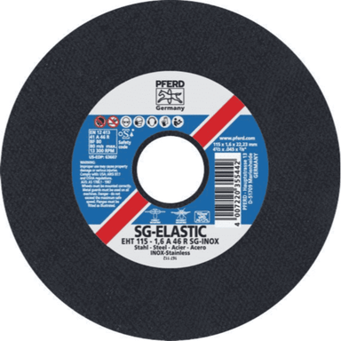 Pferd Ultra-Thin Cut-Off Wheel Premium Steelox 1.6