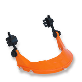 ProChoice Safety Gear's Hard Hat with Browguard Attachment Orange (1443720560712)