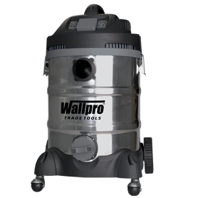 Wallboard Tools SS Power Wet/Dry Vacuum 30 Litre 1400w Wallpro