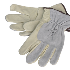 Wallboard Tools Soft Natural Leather Riggers Gloves SafeCorp