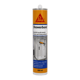 Sika Showerbond Tile Grey 300ml ctg Box of 6 Construction Adhesives SIKA