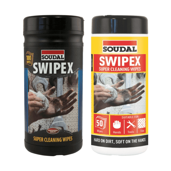 Soudal Swipex Wipes x 100/Box of 6 - SPF Construction Products