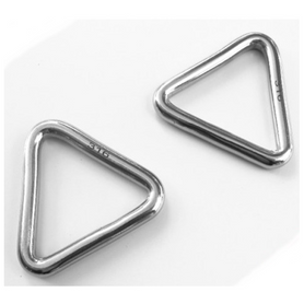 Inox World Stainless Steel Triangle Ring Welded A4 (316) Pack of 10 (4017908842568)