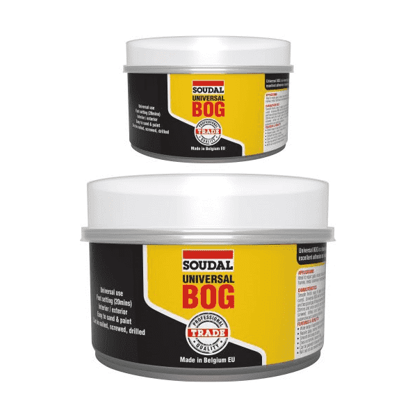 Soudal Universal BOG 750g Box of 12 Epoxy Repair Soudal