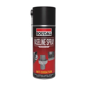 Soudal Vaseline Spray 400ml Box of 6 Cleaners & Solvents Soudal