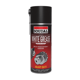 Soudal White Grease 400ml Box of 6 Cleaners & Solvents Soudal