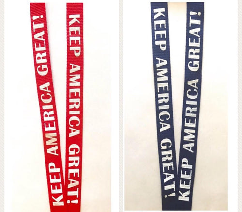 Red and Blue KAG! Lanyards