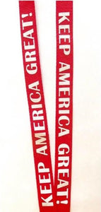 Red KAG! Lanyard