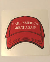 "3"" MAGA Red Hat Stickers"