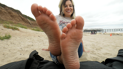 Kelly's Beach Feet