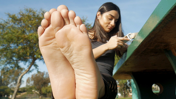 Jazmin's Soft Soles Part 1