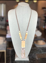 Load image into Gallery viewer, Canyonland Tassle Necklace