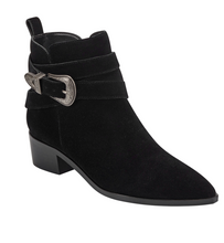 Load image into Gallery viewer, Yandi Bootie - Black Suede