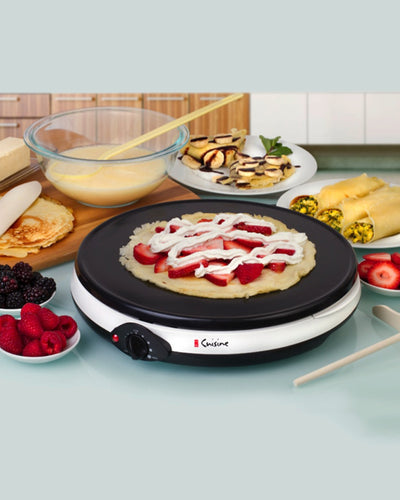 Euro Cuisine Crepe Maker and All Purpose Grill