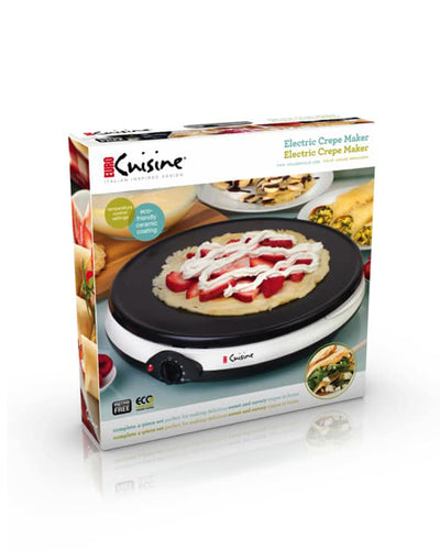 Euro Cuisine CM20 Crepe Maker and All Purpose Grill