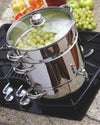 Euro Cuisine EC9500 Stainless Steel Stove Top Steam Juicer