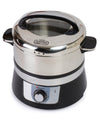 Euro Cuisine FS3200 Stainless Steel Electric Food Steamer