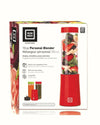 Euro Cuisine MM1R - Mini Mixx Personal Blender with 2 Tritan Bottles - Red
