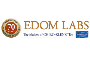 edom laboratories serving the healthcare profession for over 70 years. Chiro-Klenz tea isthe best selling colon cleansing and detox tea.