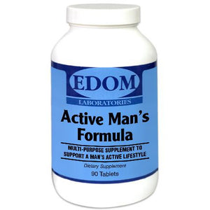 Active Man's Formula Tablets Multi vitamin and mineral supplement that provides a complete range of all essential vitamins and minerals necessary to support a healthy lifestyle for males