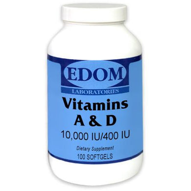 Vitamin A & D 10,000/400 Softgels