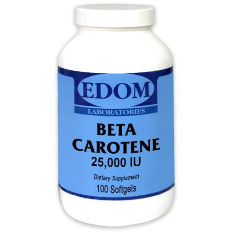 Beta carotene is a non-toxic form of Vitamin A. The body controls the conversion of beta carotene into Vitamin A in accordance with its needs. Until conversion, Beta Carotene is safely stored in the body.