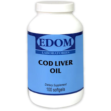 Cod Liver Oil contains Natural Vitamins A & D with Naturally occurring Omega 3 fatty acids