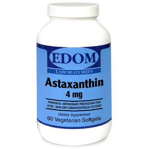 Astaxanthin is one of nature's most potent antioxidants and free radical scavengers. It has the unique ability to cross the brain/blood barrier into cells in the eye and the nervous system, and is capable of preventing oxidative damage to both kinds of tissues. Astaxanthin is many times more potent than many common antioxidants, including Vitamins C and E, and beta carotene. In fact, one scientific study showed that astaxanthin is 6000 times better at neutralizing singlet oxygen free radical than Vitamin C.