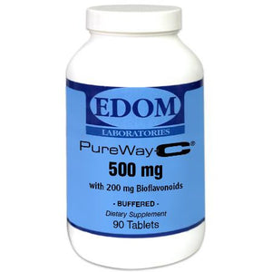 Vitamin C 500 mg. with 200 mg Citrus Bioflavonoids Tablets from PureWay-C