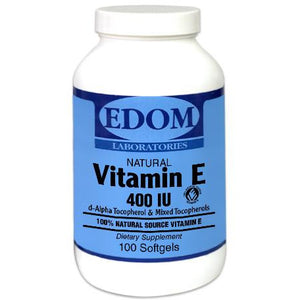 Vitamin E-400 (mixed tocopherols) Softgels